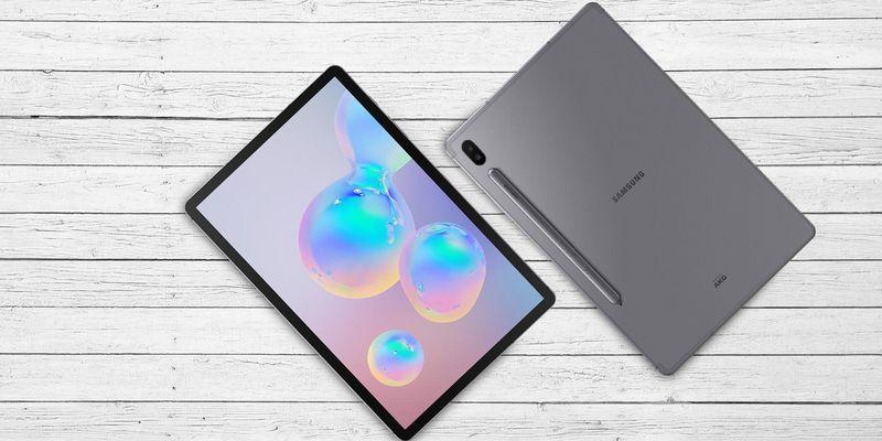 "Das neue Samsung Tablet ""Galaxy Tab S6""."