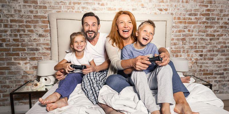 So spielen Ihre Kinder sicher auf der Konsole.