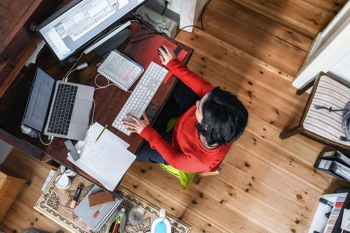 Home-Office schlägt Wohnzimmer in der devolo-Studie.