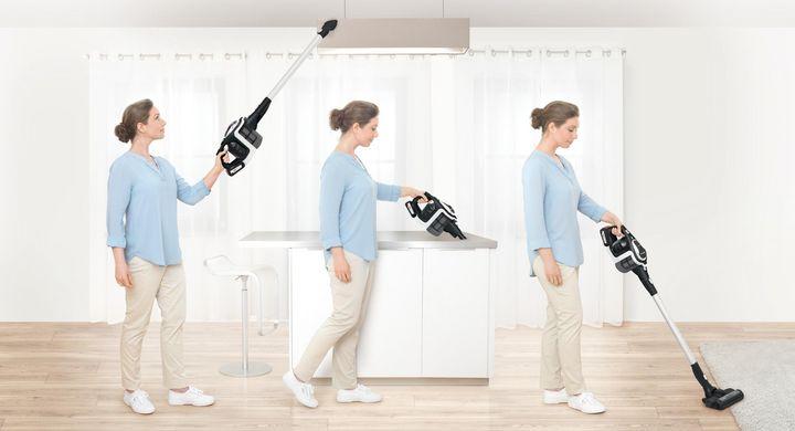 """Kompakte Bauweise und flexibler Einsatz sind die Stärken des Bosch-Staubsaugers """"Unlimited""""."""
