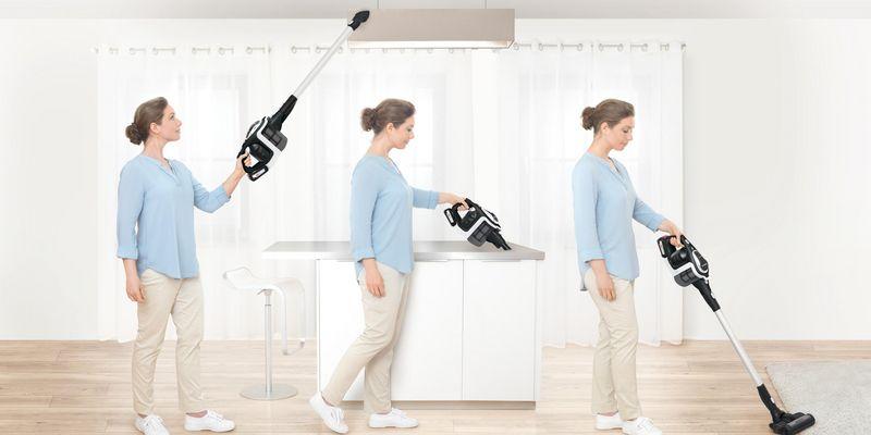 """Der kabellose Handstaubsauger """"Bosch Unlimited"""" ist ein effektiver Mitstreiter beim Herbstputz."""