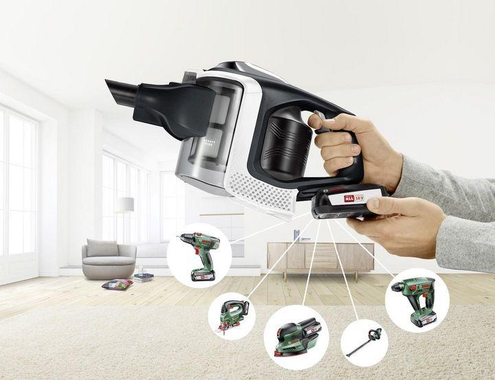 """""""Bosch 18-V Power For ALL"""": Das Akkusystem des """"Bosch Unlimited"""" ist zuverlässig stark."""