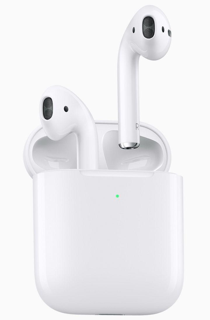 """Die neueste Version der Apple """"AirPods"""" ist mit dem eigens für die Kopfhörer entwickelten H1 Chip ausgestattet."""