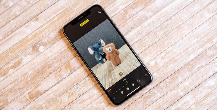 """Porträts mit unscharfem Hintergrund fotografieren mit dem """"iPhone XS""""."""