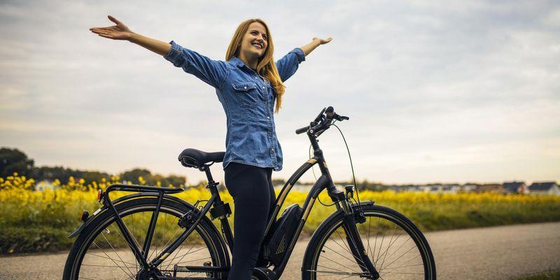 Die passende E-Bike-Größe finden.