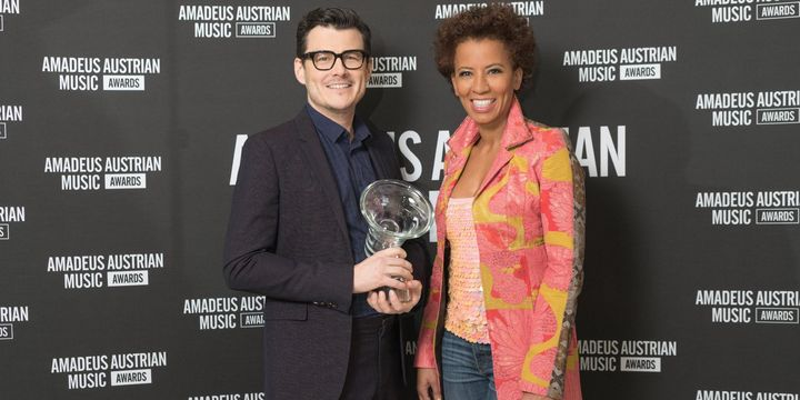 Arabella Kiesbauer und Manuel Rubey
