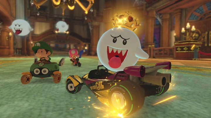 """König Buu in """"Mario Kart 8 Deluxe"""""""