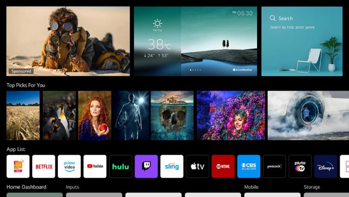 """""""webOS 6.0 Smart TV""""-Plattform und """"Magic Remote"""" sind das perfekte Duo für intuitive Fernsehmomente."""