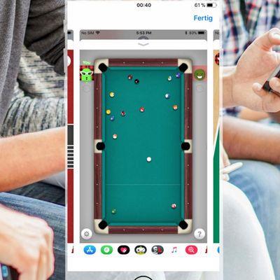 iMessage: Coole Spiele mit den Freunden spielen.