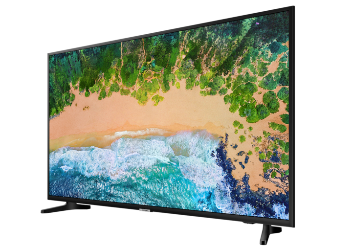 """Der Samsung-TV """"55NU7090""""."""