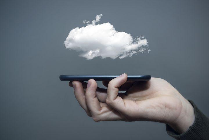 In der Cloud können Sie immer auf Ihre Daten zugreifen.