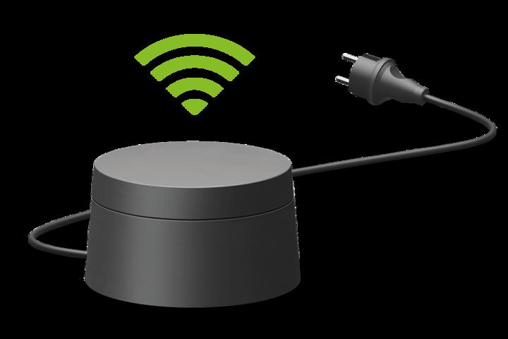 """Mit bis zu 300 Megabit pro Sekunde überträgt der """"dLAN WiFi Outdoor""""-Adapter von devolo Daten."""
