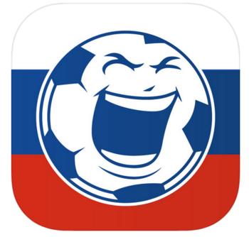 """""""WM App 2018 Spielplan & News"""" bietet Rundum-Information zur WM."""