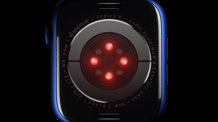Der Sensor der Apple Watch Series 6