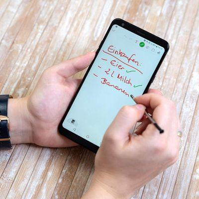 LG Präsentiert sein eigenes Stylus-Smartphone.