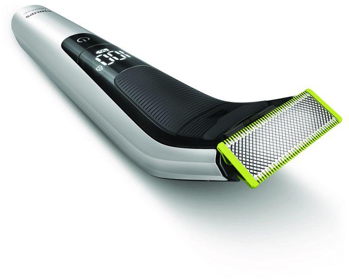 Der Präzisionsaufsatz rasiert Bartlängen von 0,4 mm bis 10 mm.