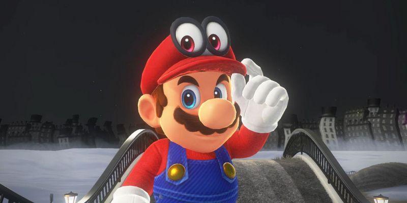 Mario und Cappy brechen zur Odyssee auf.