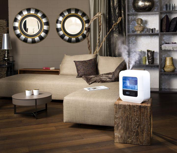 Boneco U700: Sorgt für optimale Luftfeuchtigkeit und Wohlbefinden durch sanfte Lichtstimmung.