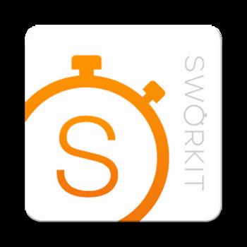 "Die Fitness-App ""Sworkit""."