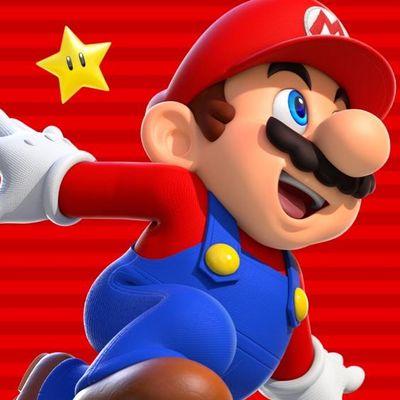 Mario auf der Jagd nach Münzen