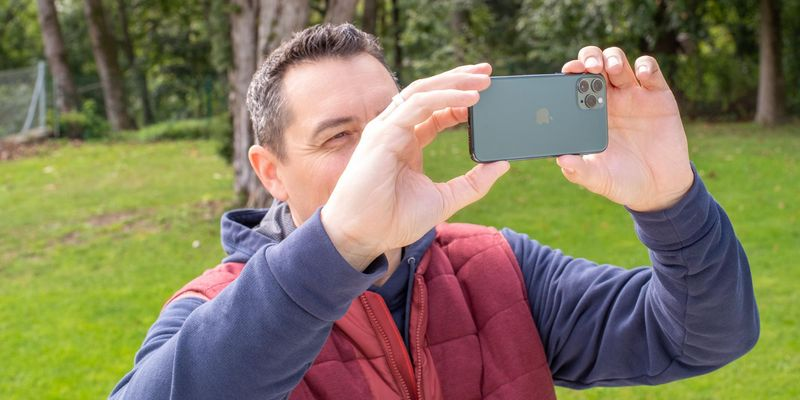 Weitwinkel-Fotos mit dem iPhone 11 Pro.