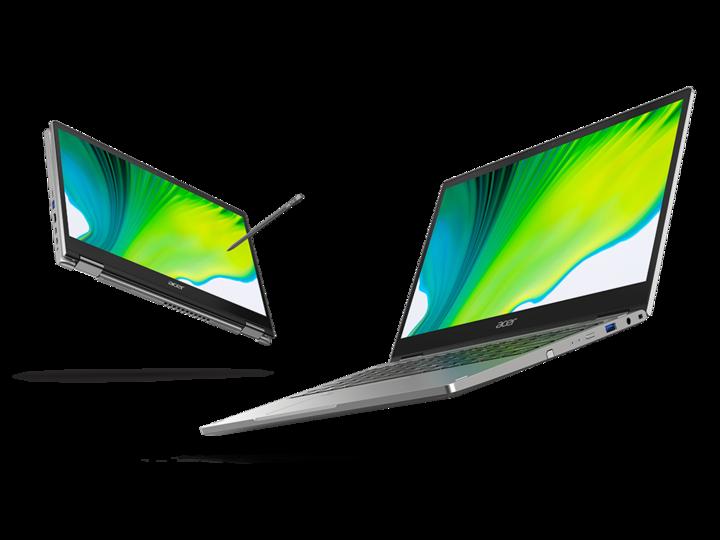 """Das """"Acer Spin 3"""" hat ein neues Design erhalten."""