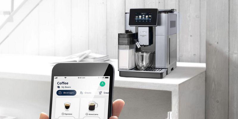 "Kaffeevollautomat mit ""Bean Adapt Technologie"": Die De'Longhi PrimaDonna Soul."