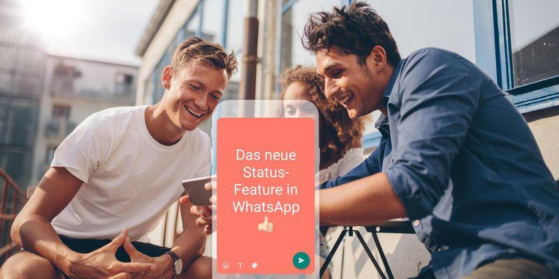 Whatsapp Update Bringt Neuen Status Farben Und Schriften