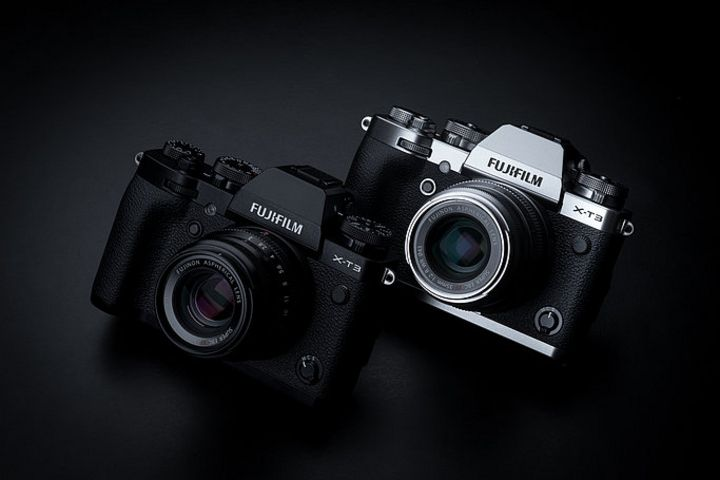 Die Kamera von Fujifilm.