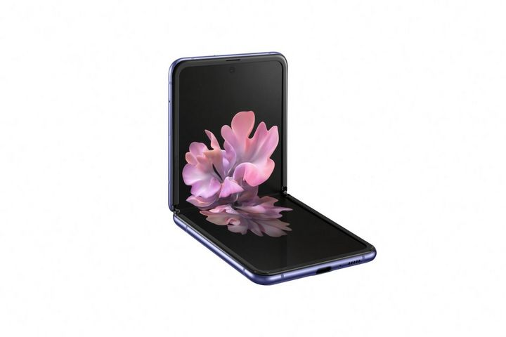 Das Samsung Galaxy Z Flip