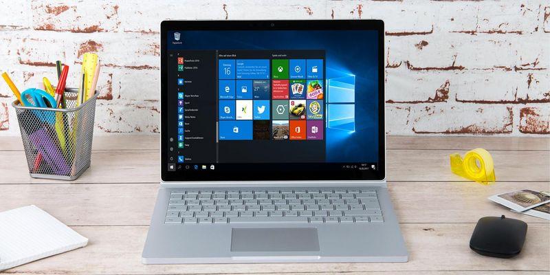 """Das """"Surface Book 2"""" von Microsoft."""