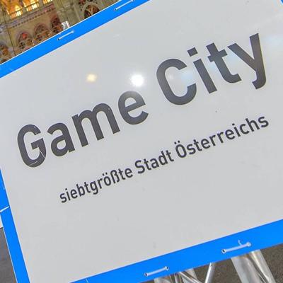 Videospiel-Fans treffen sich auf der Game City.
