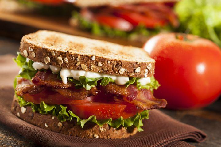 B.L.T.-Sandwich.