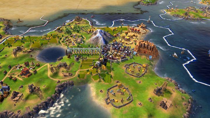Der Spielbeginn von Civilization VI