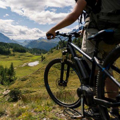 Mit dem E-Bike in den Urlaub.