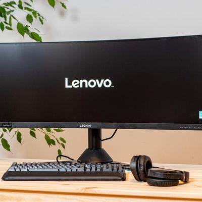 "Lenovos Gaming-Monitor""Y44w-10""."