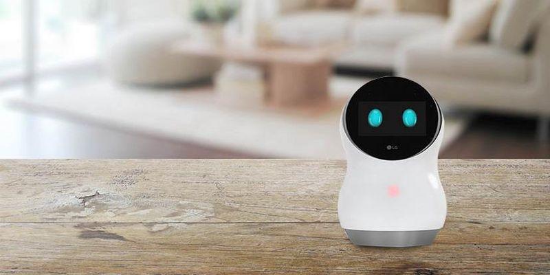Knuffiger Hub Robot von LG