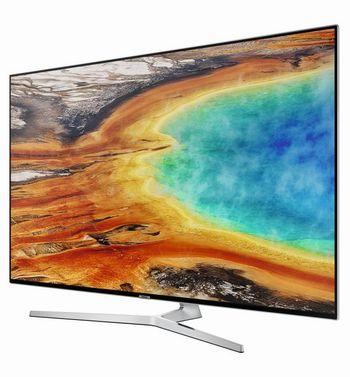 """Der UHD-Smart-TV """"MU8000"""" von Samsung."""