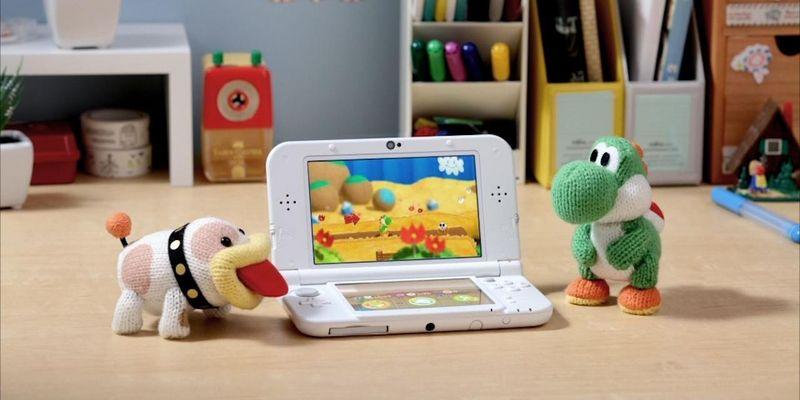 Schnuffel und Yoshi freuen sich auf ihr Abenteuer am Handheld