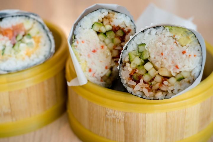 Essenstrend 2019: Sushi-Burrito.