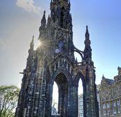 Scott-Monument in Edinburgh.