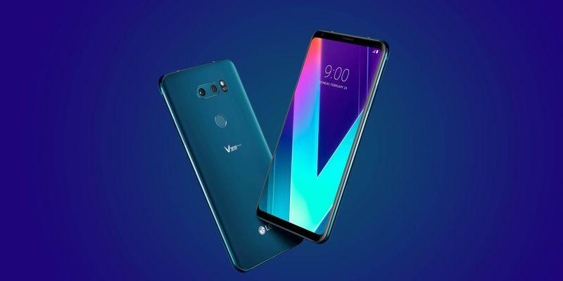 """Das """"V30S ThinQ"""" ist das neue Handy von LG mit künstlicher Intelligenz."""