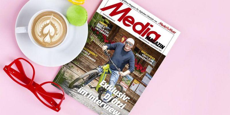 Mediamagazin Juli/August 2019.