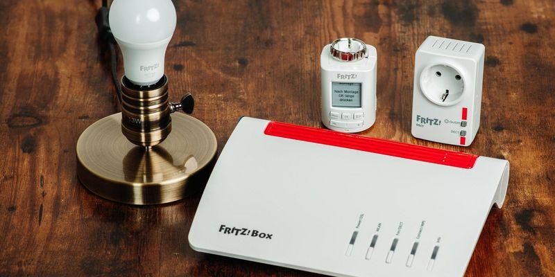 """Die """"FRITZ!""""-Smart Home-Produkte von AVM."""