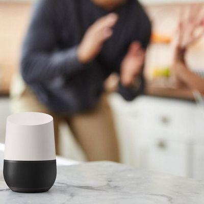 """Google Home"" hat familiengerechte Spiele bereit."