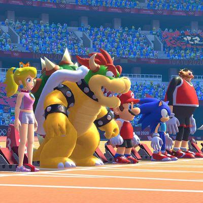 Mario und Sonic erobern Tokio.