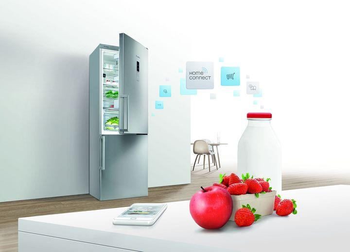 Smarte Kühlschränke helfen bei der richtigen Lagerung.