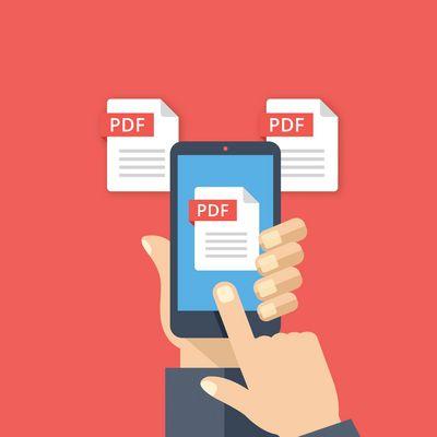 PDF's auf dem iPhone mit wenigen Klicks abspeichern.