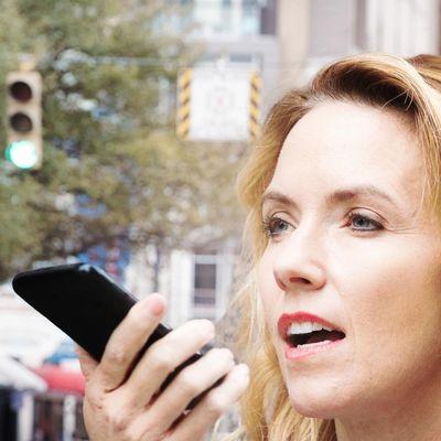 So funktioniert Sprachsteuerung auf einem Smartphone.