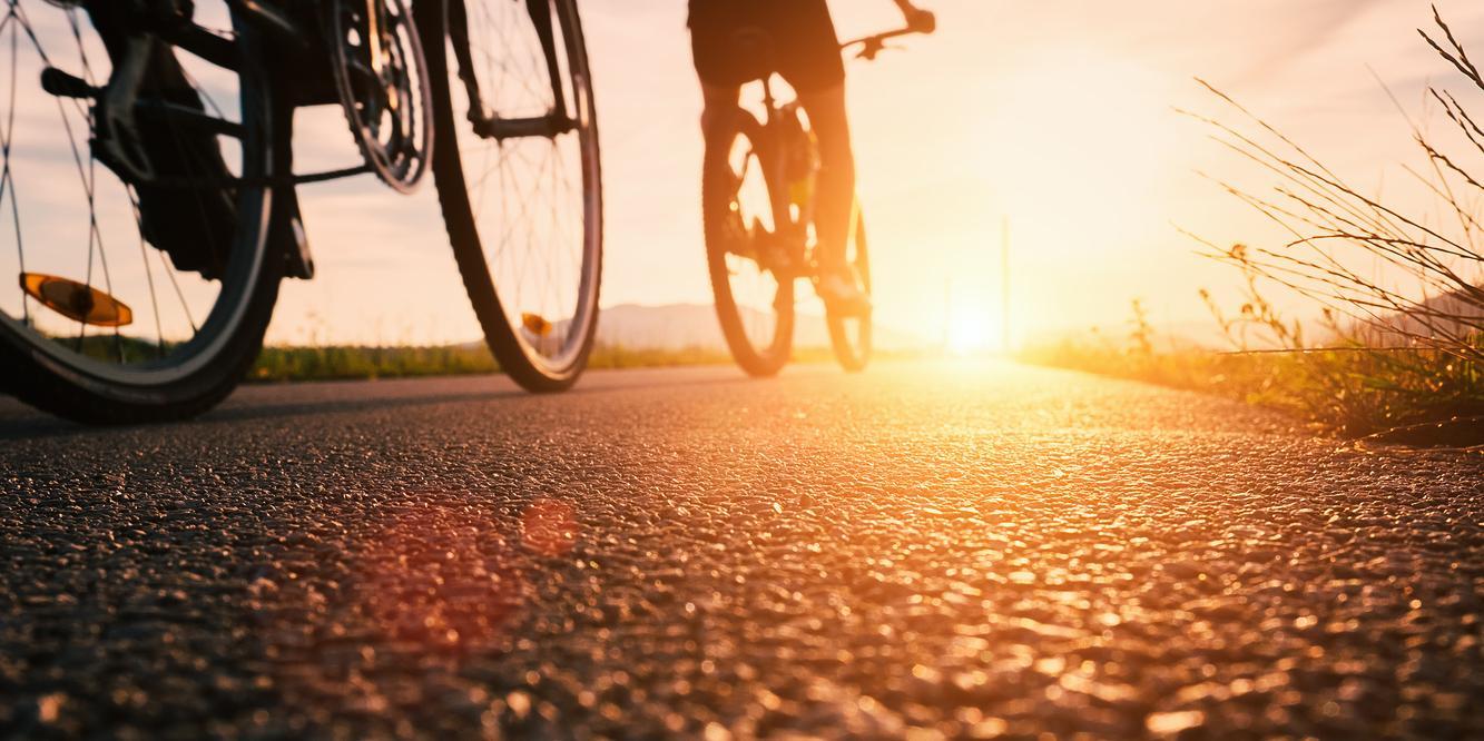 Radfahren für die Gesundheit Gelenkschonende Sportart